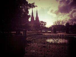 Hyde Park and S:t Marys Cathedral by rpelli