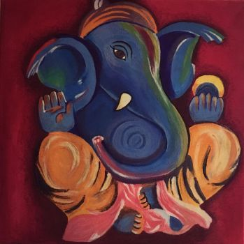 Lord Ganesha by Freaky-Lou