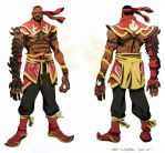 Lebron James- Firebender by ChaseConley