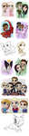 Fair Chibi Compilation by AbnormallyNice