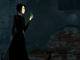 Snape by Pansy-x