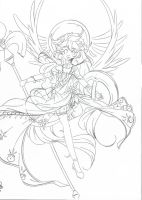 Sire of Light .:lineart:. by Angelic-Blossoms