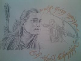 Lord of the Rings 'Legolas' by goodgirl-arcee