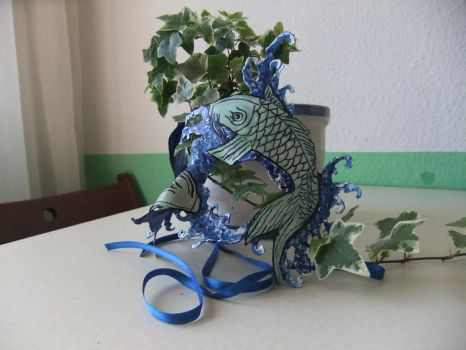 More Fish Mask for my Girlfriend by GargamelsCat