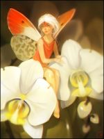 Orchid fairy by GaudiBuendia