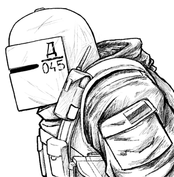 Tachanka sketch by Menaria