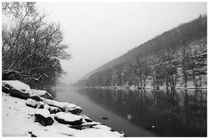 Chemung River March 2010 by Echo1034