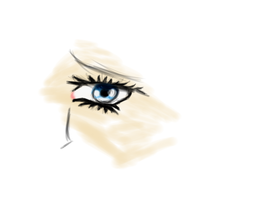 Eye Drawing by NaesSaxen