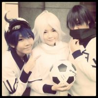 Cosplay - Hakuren 9-10-11 by minamiya