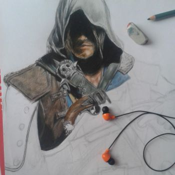 Edward Kenway by saiYacon-Arts