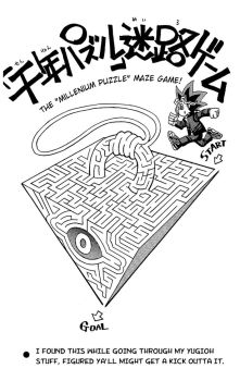 The millenium puzzle maze game by BLaKcatINK