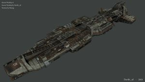 Ancient Warship v2 - 2 by Davide-sd