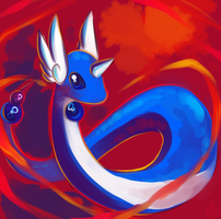 Dragonair by LegendWaker