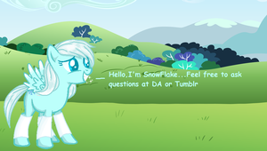Ask SnowFlake by PockyHunter