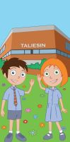 Taliesin Banner for Schools by Taylor-made
