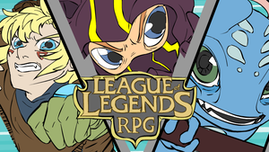 League of Legends RPG Trailer by LittleEnky