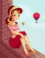 Summer balloons by Duendepiecito