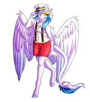 {Commission} : Anthro Seeky by Micky-Ann