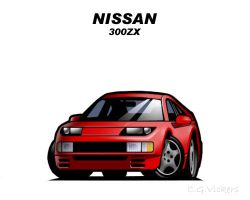 Chibi Nissan 300ZX by CGVickers