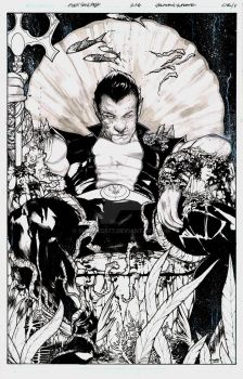 Squadron Supreme #13 Cover featuring Namor by ironhed577