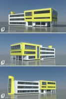 Reconstruction of the school. by Lanstream