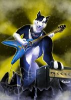 Marshall on stage by stefi-heartlilly
