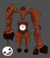 Art Trade: Clock Giant by Midnitez-REMIX