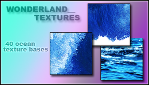 Texture Bases: Oceans by Foxxie-Chan