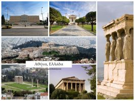 Postcard - Athens, Greece by jpgmn