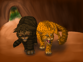 Leopards and Tigers and Clans, oh my! by Jayie-The-Hufflepuff
