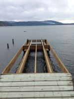 My dock being built part 3 by NINJAWERETIGER