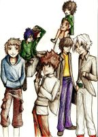 KHR all family and me by Wesdot