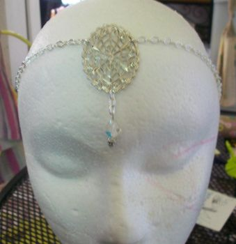 Wiccan Crystal Circlet by Angeleyesboutique40