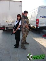 Piers Nivans y Helena Harper (RE 6) Cosplay by yandrak775