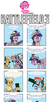 Ponies Playing Battefield 3 no.3 by Inspectornills
