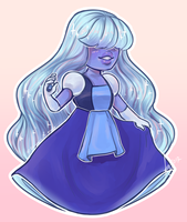 Sapphire by FrederikkeFrode