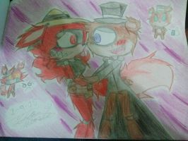 Jr. X Esther (Esnior or Juther) by greendrawer
