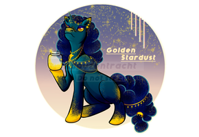 CLOSED OC Adopt Auction - Golden Stardust by Kapuzentracht
