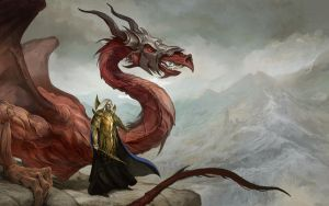 Dragon Reign Wall Paper by JonHodgson