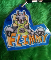 Flim Badge By Mossy by Flimingow