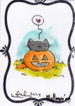 Hallowe'en Sketch Card - Katie Cook 1 by Pernastudios