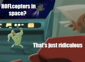 ROFLcopters In Space by Screwed-In-The-Head