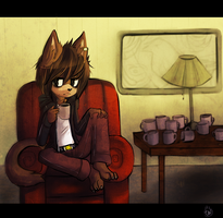 AT: Coffee Addict by thatWeasel