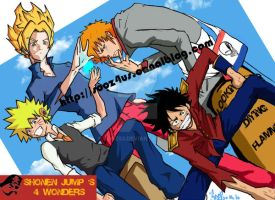 Shonen Jump 4 Wonders by SooZ83