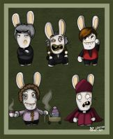 Father Ted Rabbids by MableTheRabbid