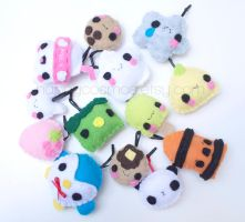 Cute Phone Charms by CosmiCosmos