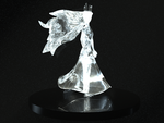 Child Of Light - Aurora Concept Crystal Sculpture by Shindeor