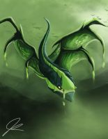 Viper DOTA 2 Fanart 'Valley of the Virulent' by Evil0cookie