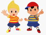 Ness and Lucas by SSGCyberMarioKing