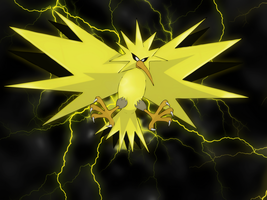 Zapdos wallpaper by Elsdrake